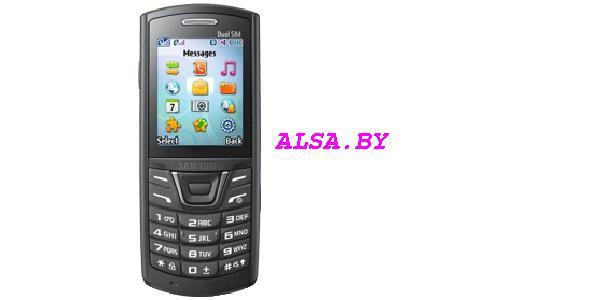 Samsung E1252 черный