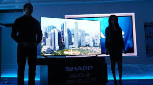 Ультра HD LED TV телевизор компании Sharp