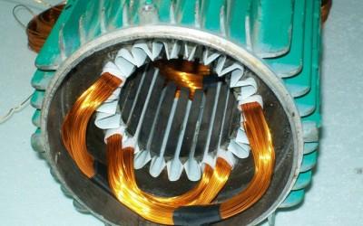 перемотка якоря электродвигателя