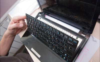 Замена клавиатуры в ноутбуке Acer в Минске